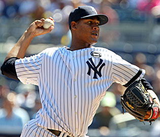 The Yankees hope 24-year-old right-hander Ivan Nova gives the rotation a boost. (US Presswire)