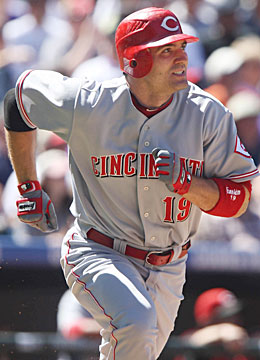 Can MVP Joey Votto lead Cincy to back-to- back division titles? (US Presswire)
