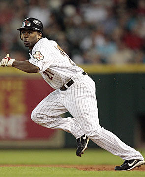 There's no slowing down Michael Bourn, who swiped 113 bases the past two seasons. (Getty Images)