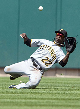 Center fielder Andrew McCutchen is one of the top young players in the game. (US Presswire)
