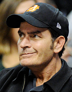 Charlie Sheen couldn't be any more of a train wreck than Frank McCourt. (Getty Images)