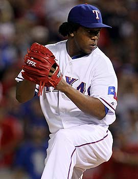Neftali Feliz has added a cut-fastball to his repertoire this spring. (Getty Images)