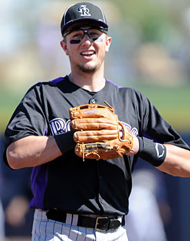 Troy Tulowitzki: Rockies shortstop, NL MVP, NL champion. (Getty Images)