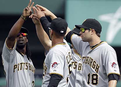 The Pirates win consecutive road series for the first time since Aug. 20-26, 2007. (AP)