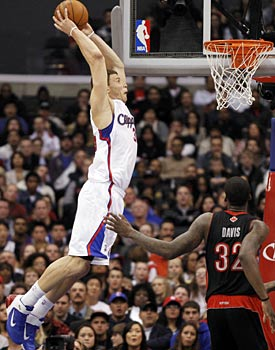 Here's one award that's easy to give out: Blake Griffin for Rookie of the Year in a landslide. (AP)