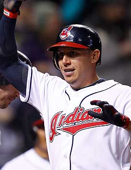 Asdrubal Cabrera already has four homers after coming into the season with just 18 for his career. (Getty Images)