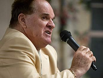 Hits-king Pete Rose has gone from being an inspiration to a depressant. (US Presswire)