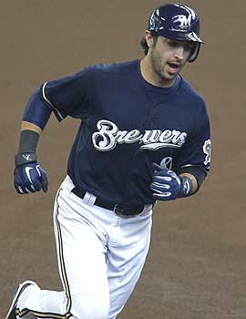 Ryan Braun's deal is the longest commitment to a player in Brewers history. (AP)