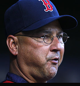 Red Sox manager Terry Francona says he doesn't see Crawford hitting seventh all season long. (AP)