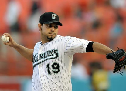 Anibal Sanchez entered the game against the Rockies 0-1 with a 5.51 ERA. (US Presswire)
