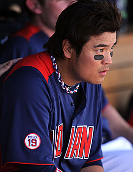 Shin-Soo Choo is the sixth player arrested this season on DUI charges. (Getty Images)