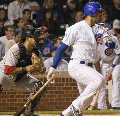 Carlos Pena contributes two hits and two RBI to the Cubs' biggest offensive output this season.  (AP)