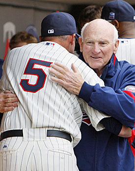 Michael Cuddyer was among the current Twins to develop a close relationship with franchise icon Harmon Killebrew. (AP)