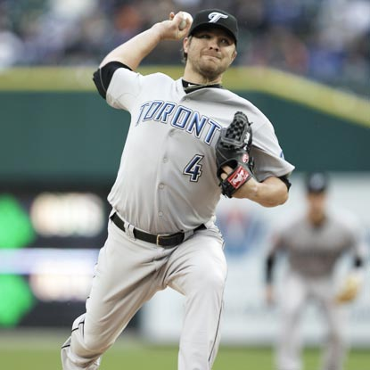 Kyle Drabek allows three hits in seven innings to help the Blue Jays snap the Tigers' win streak. (AP)