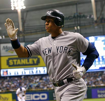 Alex Rodriguez snaps a 14-for-82 slump with two home runs at the Trop for the Yankees.  (US Presswire)
