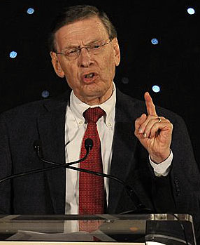 Bud Selig says Major League Baseball is doing what's necessary to provide stability to the Dodgers. (AP)