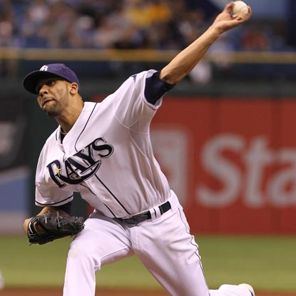 David Price allows four hits in seven innings while striking out a career-high 12 batters.  (Getty Images)