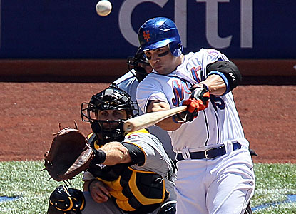 Carlos Beltran's three-run home run sets off the Mets' biggest comeback in 11 years. (Getty Images)