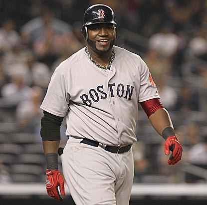 David Ortiz, who smiles after the Yankees plunk him for the first time since October 2003, winds up with the last laugh.  (Getty Images)