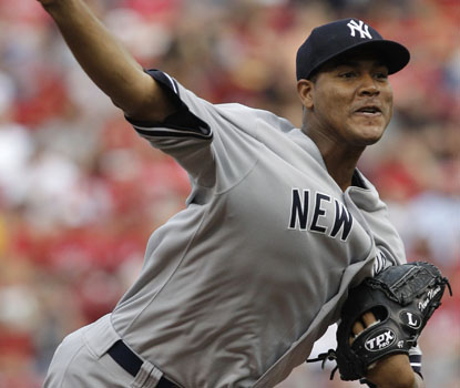 Ivan Nova, who wins his third straight, pitches New York to its ninth win in 11 outings. (AP)