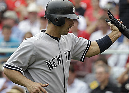 Jorge Posada hits a tiebreaking two-run homer in the sixth to halt a stretch of 126 at-bats without one. (AP)