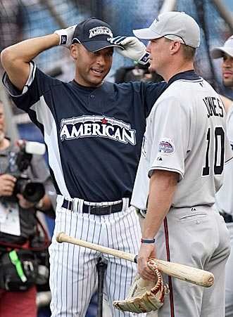 You can keep your Asdrubal Cabreras and Aramis Ramirezes. Gregg Doyel will stick with standbys Derek Jeter and Chipper Jones. (Getty Images)