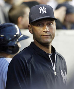 Jeter, who turned 37 on Sunday, has a good chance to rejoin the Yanks for the Cleveland series. (AP)