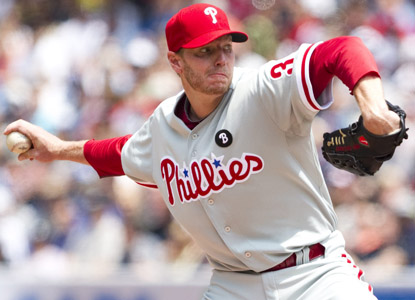Roy Halladay is 6-0 with a 2.81 ERA in his past nine starts, all wins. It's the longest streak of his brief Philly career. (AP)