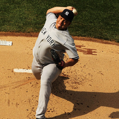 The Yankees' Bartolo Colon returns from the DL and delivers six shutout innings against the Mets.  (Getty Images)