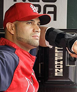 Pujols says he's not surprised by his quick recovery. (AP)