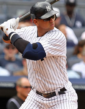 Alex Rodriguez says he did not receive performance-enhancing drugs from Dr. Anthony Galea. (Getty Images)