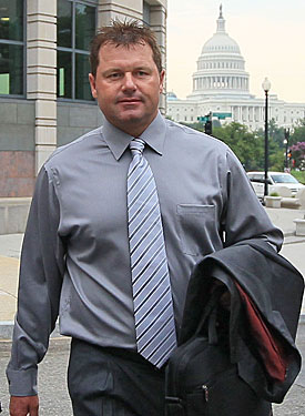 Roger Clemens faces years in prison not for using steroids, but for lying about it to Congress. (Getty Images)