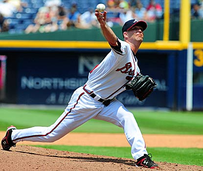 Tim Hudson's performance was enough to help the Braves complete a sweep over the injury-riddled Rockies. (Getty Images)