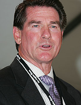 Steve Garvey ends a 30-year tenure with the Dodgers. (Getty Images)