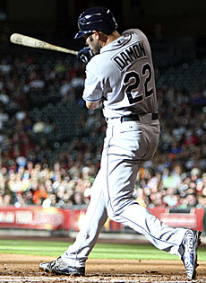 Johnny Damon looks to last a couple more years, as the Rays DH is a few hundred hits shy of 3,000. (Getty Images)
