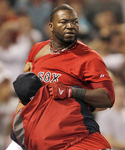 Ortiz on his actions: 'That's not part of my personality. I don't like being caught in a situation like that.' (AP)