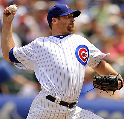 A day after the bullpen blows a Cubs victory, Ryan Dempster locks the win for Chicago by pitching eight scoreless innings. (AP)