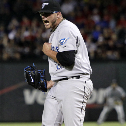 Brett Cecil gives up four singles to the Rangers while earning his first big-league shutout.  (Getty Images)