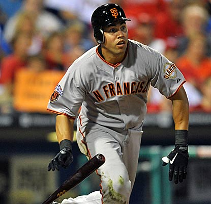 New Giants outfielder Carlos Beltran goes 0 for 4 in his debut, San Francisco beats the Phillies with solid pitching.  (Getty Images)