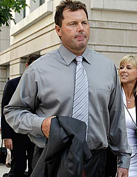 Roger Clemens accuses prosecutors of provoking a mistrial as their case was going badly. (Getty Images)