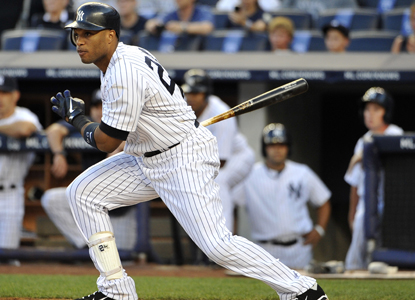 Robinson Cano goes 5 for 5 with five RBI while helping lead the Yanks to a 14-run victory over the Orioles.  (Getty Images)