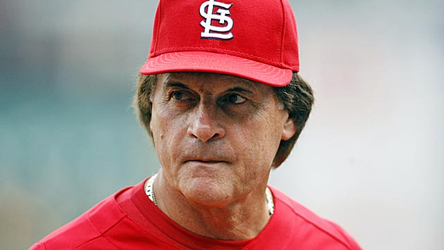 La Russa says one Brewers fan told him 'I hope you get shingles again.' (US Presswire)