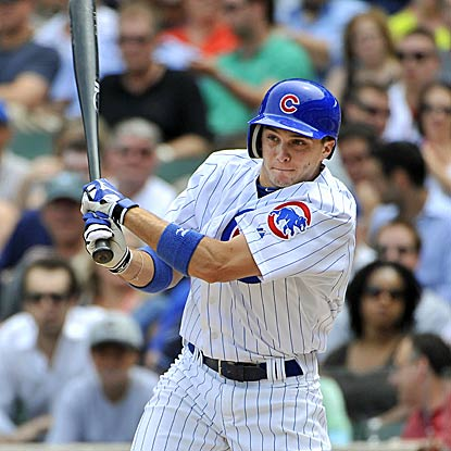 Tony Campana becomes the first Cub to hit an inside-the-park shot for his first career home run. (AP)