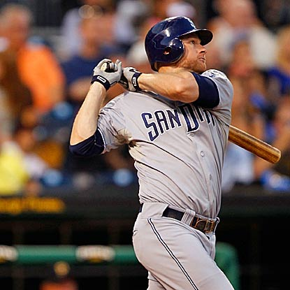 The Padres cruise to victory over the Pirates after hitting four homers, including a grand slam by Chase Headley. (Getty Images)