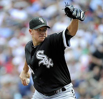 Jake Peavy earns his first win in more than a month as the White Sox sweep the Twins on the road, first time in seven years. (Getty Images)