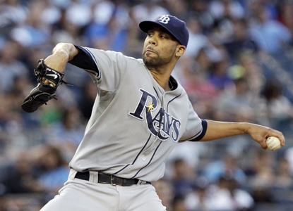 David Price finds his form against the Yankees, allowing only six hits and one run during eight dominant innings. (Getty Images)