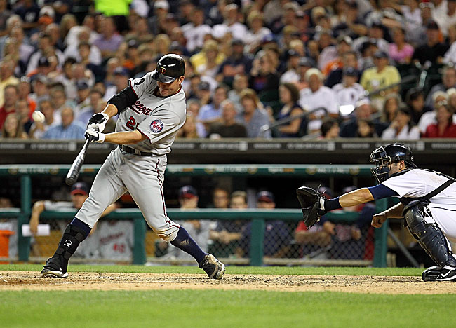 Bothered by injuries to his toe, oblique and quads, Thome connects for only his 11th HR of 2011. (Getty Images)