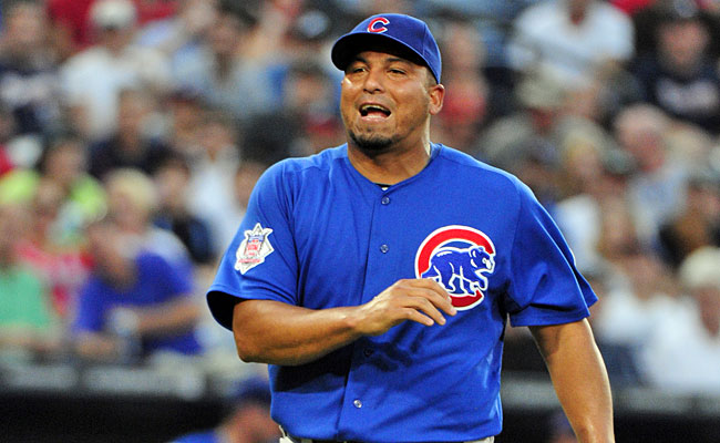 Carlos Zambrano still wants to get paid despite telling the Cubs he wants to quit. (AP)