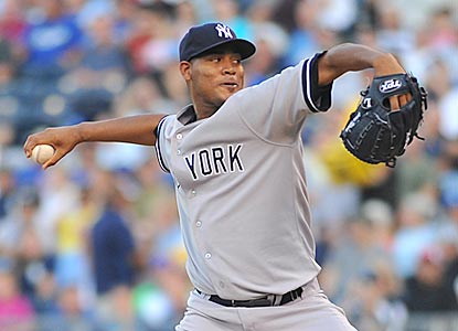 Ivan Nova struggles, but the offense and bullpen bail him out to make him the first Yanks rook since '79 to win eight straight. (Getty Images)