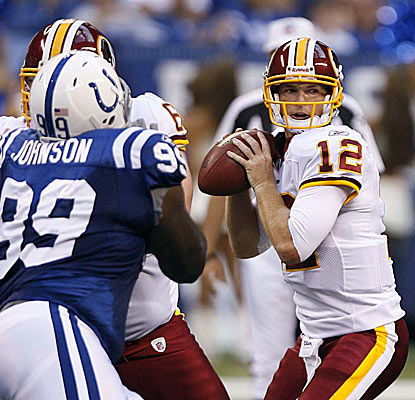 'I can only worry about me,' John Beck says about the QB battle with Rex Grossman.  (U-Wire)